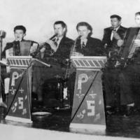 The Popular Five dance band, Mitchelstown, 1950s
